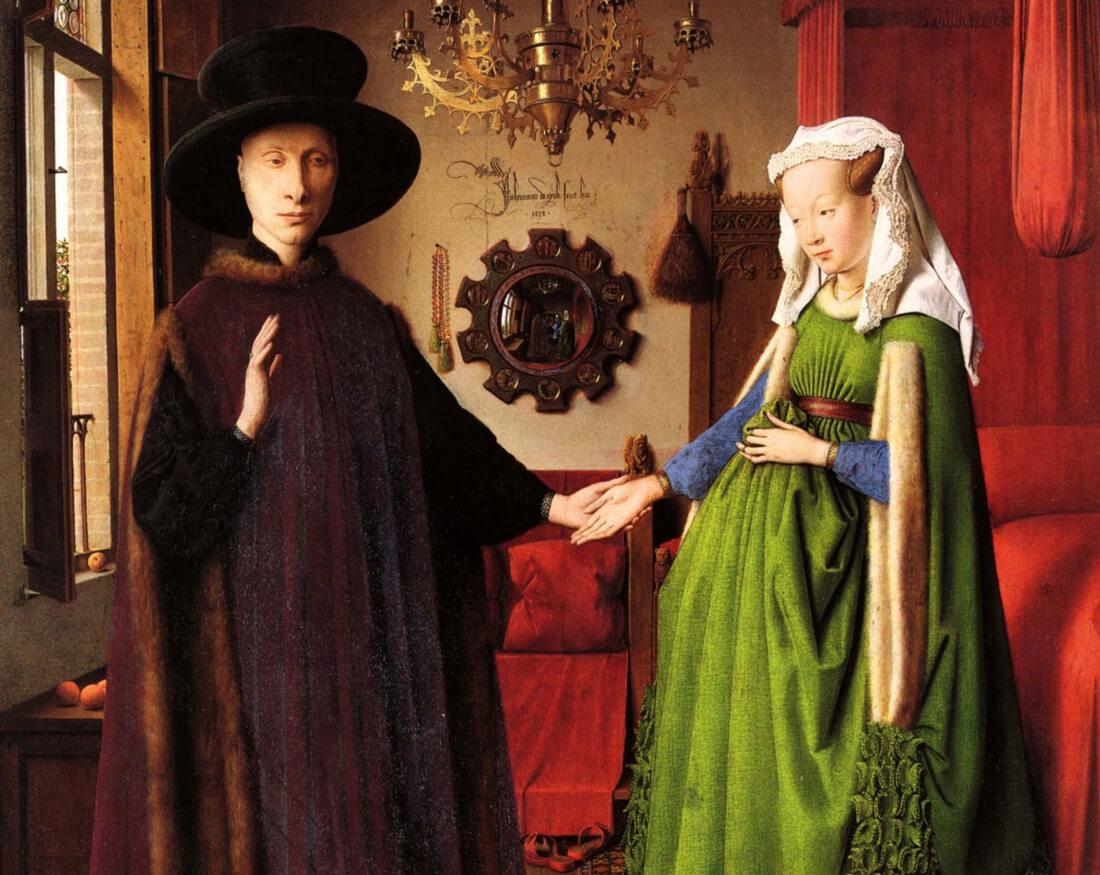 El Matrimonio Arnolfini como inspiración de creatividad y perfección