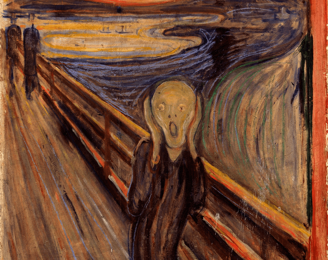 El Grito de Edvard Munch National Gallery Oslo